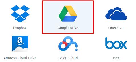 Sauvegardez vos fichiers Dropbox ou Google Drive